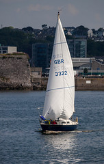 GBR 3322 30th June 2016 (JDurston2009) Tags: boat sailing yacht plymouth devon sailingboat plymouthsound mountbattan