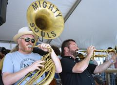 Mighty Souls Brass Band (Sean Davis) Tags: memphis trumpet wiseacre tuba mightysoulsbrassband