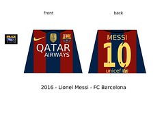 LEGO MESSI - FC Barcelona minifigure decals (The Brick FORCE !!!) Tags: lego minifigure custom football legoland decals torso tshirt euro fifa uefa champions league messi vs ronaldo nike lionel unicef 2016 season