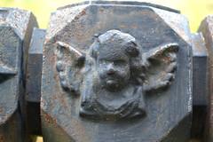 Iron Cherub (MTSOfan) Tags: art cemetery angel fence wings cast cherub cannonhill