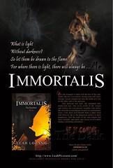 #IMMORTALIS Preorder Hardcover Soon! Release Party 2 wks! Thx 4 RTs!  #RT #Share #Retweet #Like #Follow #ReaderRT #BookRecommends #BestOf2016 #Thanks #THX #BookLovers #ReadingAlways #bookmarking #Kickstarter #LinkedIn #marketyourbook #bookreviews (leahlozano.author) Tags: immortalis rt share retweet like follow readerrt bookrecommends bestof2016 thanks thx booklovers readingalways bookmarking kickstarter linkedin marketyourbook bookreviews