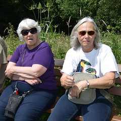 Sutton Park. Sue and Anne, friends for 40 years. (Anne & David (Use Albums)) Tags: suttonpark sue anne