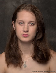 Kathryn Jordan (Dana Brady) Tags: 50mm crate homestudio jeanshorts pinktop pentaxk3 daveanddanaphotography