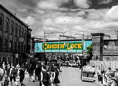 life in the Locks contrasts (PDKImages) Tags: street city windows girls urban streetart london art girl beauty graffiti women scenery rooftops faces skin camden stripes murals caged shoreditch walls contrasts owls
