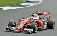 Ferrari's Iceman.. (mickb6265) Tags: silverstone kimiraikkonen scuderiaferrari ferrarisf16h formulaonetestdays2016