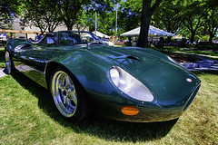 Jaguar XJ13 (hz536n/George Thomas) Tags: summer copyright canon michigan canon5d nik jaguar flint hdr carshow 2016 ef1740mmf4lusm xj13 cs5 sloanmuseum sloanmuseumautofair