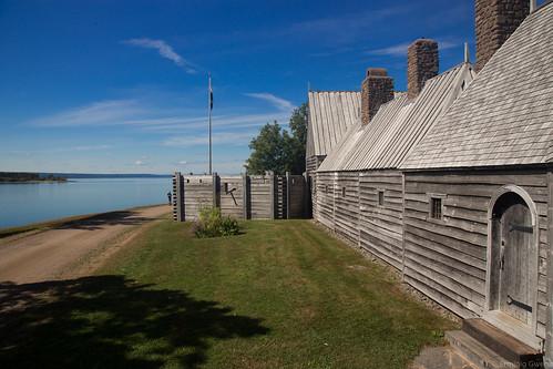 Habitation de Port Royal, premier comptoir Français au Canada.