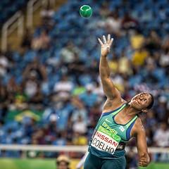 Rio 2016 - Atletismo - arremesso de peso F37 (Comit Paralmpico Brasileiro) Tags: rio2016 130916 cpb atletismo paralimpiada shirlene peso coelho