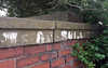 King Arthur's Court no more (Camperman64) Tags: graffiti ledstonluck arthurscargill minersstrike 1984 1985 socialhistory wall overgrown kingarthur