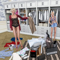 I have nothing to wear (MISS SL ♛ Ireland 2016) Tags: deaddollz fashion lingere secondlife truthhair