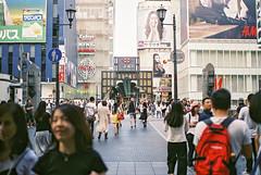 Bustling Shinsaibashi (sim_limited) Tags: bustling shinsaibashi dotonbori osaka croud pedestriantraffic filmcamera pentaxlx pentaxart pentaxlife pentaxawards pentaxflickraward film