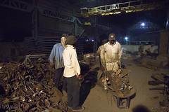 All Your Steel: Scrap (UJMi) Tags: iron lahore pakistan steel steelmill fire industrial night sony nex nex7 electric furnace smelter hardwork ironwork idustry