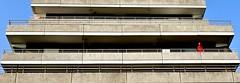 Man in Red (simson60) Tags: architektur gebude gelnder struktur nikon outdoor malente