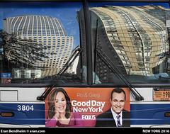 Good Day New York (eraneran70) Tags: eran bendheim nikon p900 reflection towers buildings city urban bus m20 nyc newyork mta