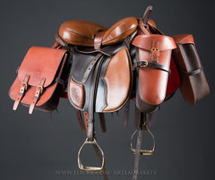 ART_1075 (White Bear) Tags: handmade cossack russian saddle saddles saddlery