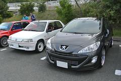 maiks1211017b (tanayan) Tags: sun car japan french nikon automobile 106 maiko   aichi peugeot j1 ivent 208 shinmaiko  worldcars