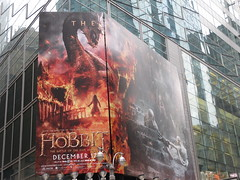 The Hobbit Times Square Billboard Above Subway 1756 (Brechtbug) Tags: street new york city nyc shadow 3 film halloween fashion movie subway poster square ian three scary martin wizard vampire five broadway entrance battle lord billboard part rings ave gandalf horror terror cape times fangs avenue sir creature hobbit 7th bilbo baggins freeman serial fright 42nd the 2014 mckellen standee armies tolkin 12022014