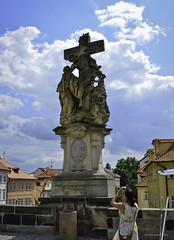 Santa Lutgarda a los pies de Cristo, Puente de Carlos (jflores_cl) Tags: europa prague praha praga viajes turismo vacaciones repúblicacheca 2011
