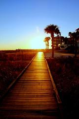 Sunset on Grayton Beach (Kenny Shackleford) Tags: ocean sunset sky sun beach gulfofmexico water waves florida tide graytonbeach