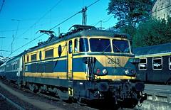 2613  Aachen  12.05.80 (w. + h. brutzer) Tags: analog train nikon 26 eisenbahn railway zug trains aachen locomotive belgien lokomotive elok eisenbahnen sncb eloks webru