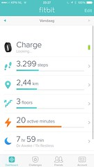 "My @Fitbit Charge keeps saying ""Looking"". Lots of issues, lately..."