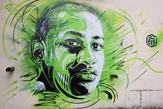 C215 (HBA_JIJO) Tags: portrait urban streetart france art colors wall painting graffiti stencil artist spray peinture aerosol pochoir murale ivry ivrysurseine c215 christianguémy paris94 pochoiriste hbajijo