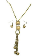 5th Avenue Brass Necklace P2441A-5
