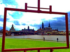 """Framed """"Canaletto View"""" of the Dresden skyline (peggyhr) Tags: germany dresden archives thegalaxy 25faves peggyhr heartawards flickrawardgroup canalettoview qualitypixels ipadmini betterthangoodlevel1 ►thebestshots◄level1 thelooklevel1red super~six☆stage1☆bronze niceasitgets~level1 niceasitgets~level2 redlevelno1 frameit~level01~ ♣myhatsofftoyou ♣scapes infinitexposurel1 infinitexposurel2 visionaryartsgalleryplatinumgoldl2 visionaryartsgalleryl1 thegalaxyhalloffamef ❤germany»ⓓ«deutschland❤"""