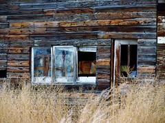 No Trespassing (takeruyamato44) Tags: house west abandoned home america unitedstates northwest empty garland spooky western ghosts wyoming desolate abandonedhome canonpowershotsx40hs