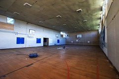 Not very Sporting (Landie_Man) Tags: school abandoned training education soft closed air north forgotten finished disused leamington spa derelict warwickshire shut midlands airsoft derp
