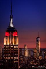 On Top of the Rocks, New York (Christian Bcker) Tags: city usa newyork skyline canon eos bluehour eastcoast blauestunde atlanticcoast canonef24105mmf4lisusm topoftherocks 60d usa2013