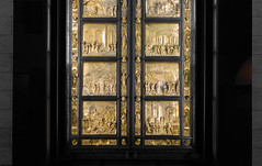 Ghiberti, Gates of Paradise, lower doors