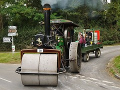 "Aveling & Porter steam Roller No. 8837 ""George"" (Ben Matthews1992) Tags: road old building classic vintage george construction bs anniversary transport traction engine bedfordshire run historic steam equipment machinery national single trust cylinder roller vehicle preserved warden porter 70 rolling 60th towing preservation 1917 2014 haulage 8ton aveling oldwarden 8837 ntet 5nhp ntet60thrun no1221"