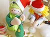 Arremate a ponta com uma bolinha de bijuteria, uma miçanguinha, o que tiver à mão. (Ateliê Bonifrati) Tags: tree cute natal diy craft árvore tutorial pap molde passoapasso bonifrati craftchristmas natalcraft