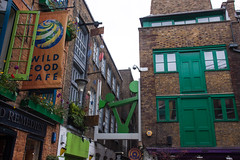 Neal's Yard, Covent Garden - London UK (ChrisGoldNY) Tags: city uk greatbritain windows england urban brick green london english architecture buildings design forsale unitedkingdom britain gb albumcover coventgarden british walls bookcover bookcovers nealsyard albumcovers licensing chrisgoldny chrisgoldberg wildfoodcafe chrisgold chrisgoldphoto chrisgoldphotos