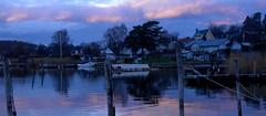 (blazedelacroix) Tags: pink sea sunrise mood purple baltic archipelago vaxholm resarö