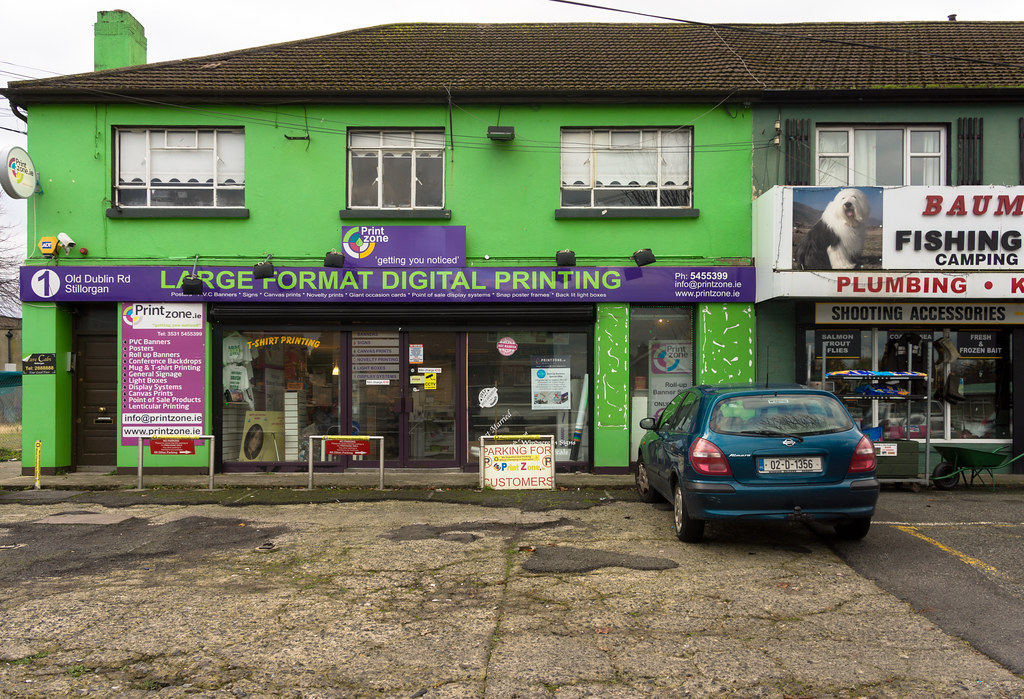 Large Format Digital Printing - Old Stillorgan Road Ref-100124