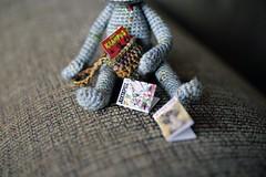 Grumpy Monster (Radical She Tarot) Tags: monster plush amigurumi