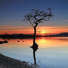 Loch Lomond Sunset - Explored (JamieD888) Tags: sunset scotland lochlomond millarochybay