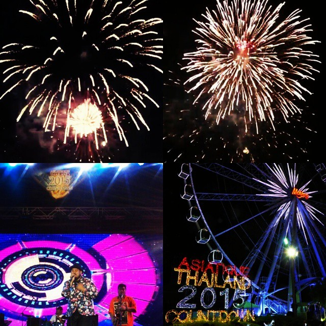 Happy new year 2015 @asiatiquethailand  #happynewyear2015 #morelumialove  #music  #พี่ป๊อบบาบา #เหนื่อยอยากนอน #asiatiquesky #countdown #kp_park #Januarysky ͙