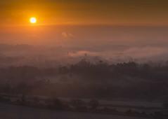 _DSC4859 (JohnB's photos) Tags: england mist fog sunrise frost frosty surrey nationaltrust hilltop boxhill 105mmmacro indurotripod induroct214 nikond610