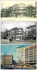 Pont d'Avroy 1900-1905-1960 (Claude Warze) (Lige, Hier et Aujourd'hui) Tags: luik lige lameuse provincedelige claudewarze pontdavroys provincievanluik