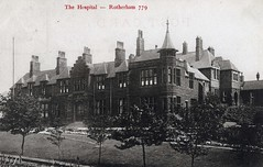 Rotherham Hospital (robmcrorie) Tags: history hospital gate patient health national doctor nhs service british nurse healthcare rotherham doncaster