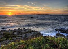 Sunset from Alderney