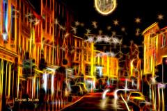 Christmas light. (Edward Dullard Photography. Kilkenny, Ireland.) Tags: christmas kilkenny ireland digitalart noel eire emeraldisle irlanda nollaig ierland fractual lirlande edwarddullardphotographykilkennycityireland