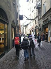 per le vie della Città Alta (Bergamo)