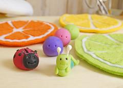 Olha o labirinto! (BoniFrati) Tags: cute diy craft felt feltro coaster tutorial pap molde bonifrati portacopos