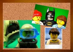 BatFan's #Selfie Collection (Lesgo LEGO Foto!) Tags: sea comics shark fan comic lego deep scuba diving batman scubadiving diver fans minifig minifigs marvel selfie scubadiver minifigures selfies legophotography