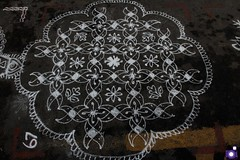 Rangoli (Sivakumar Annamalai R) Tags: kolam rangoli tamilculture kolappotti