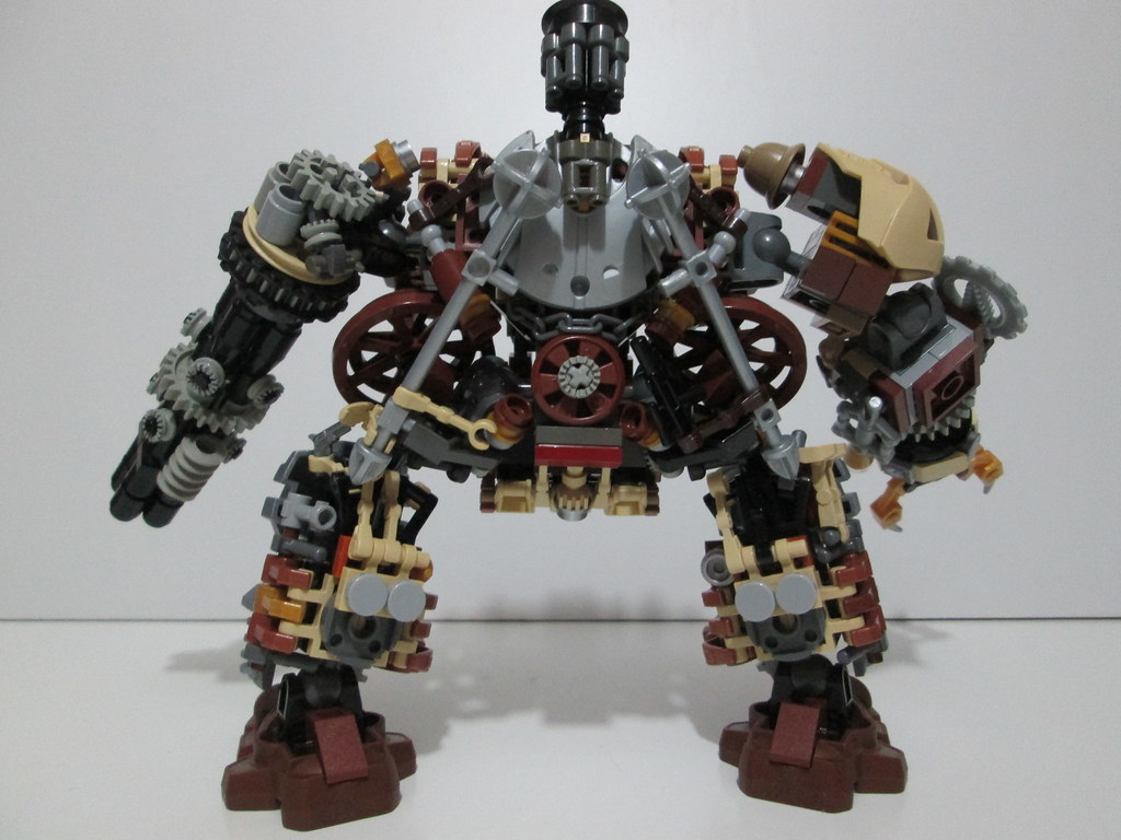 how to make lego steampunk guns